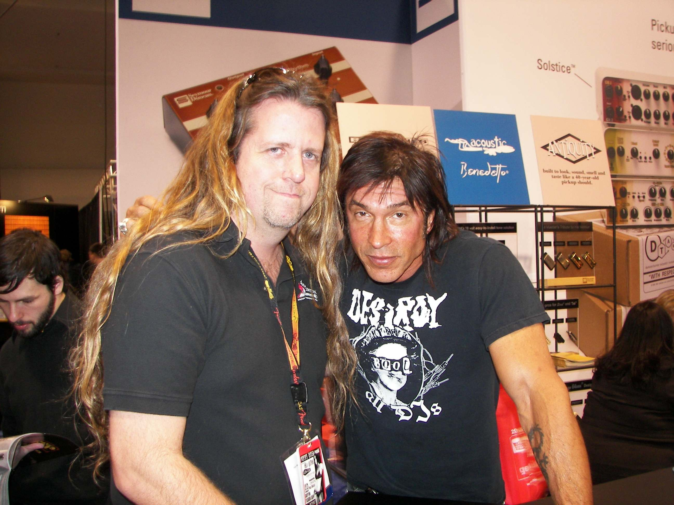 Gerorge Lynch from Lynch Mob, Dokken