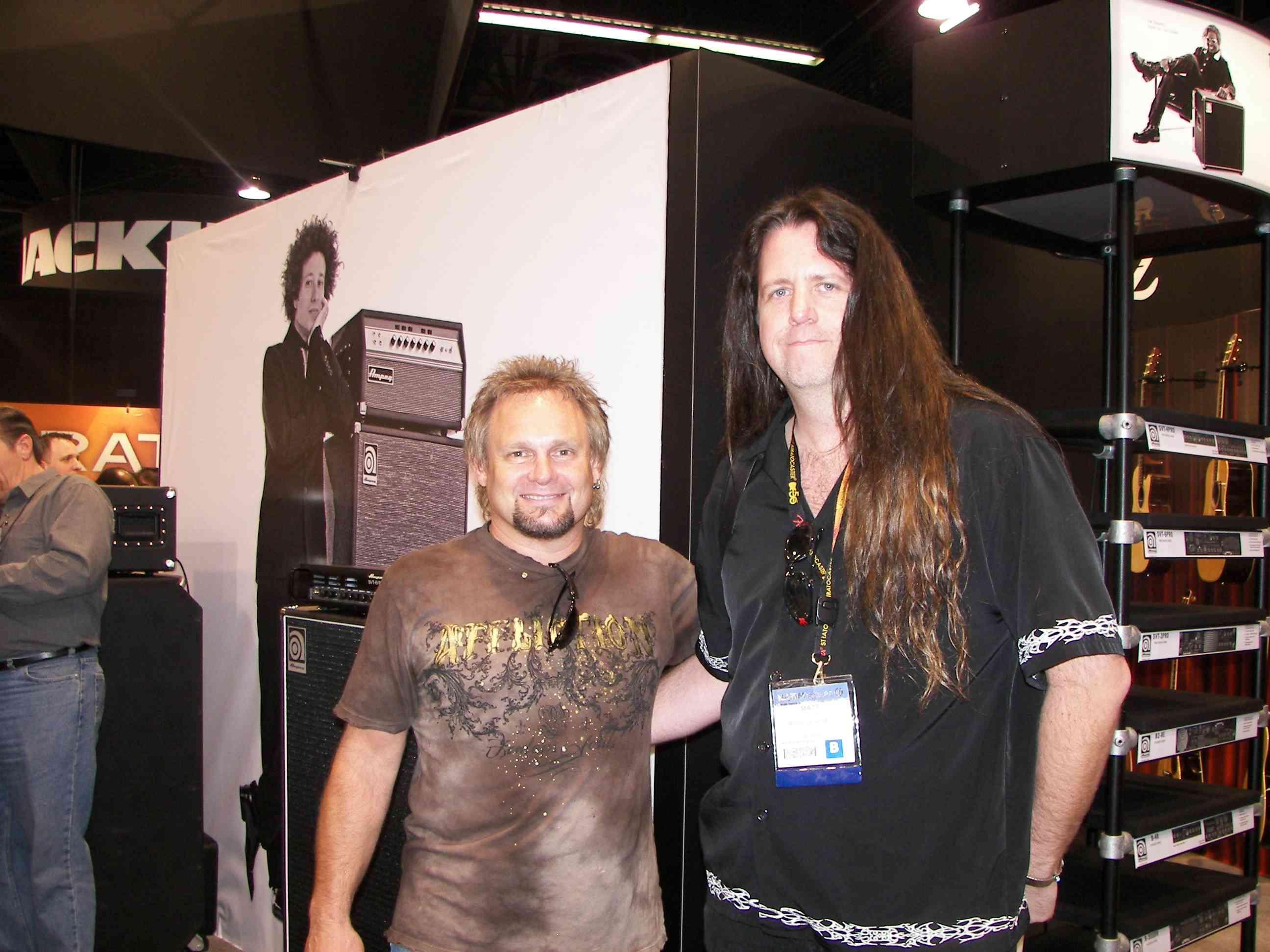 Michael Anthony from Van Halen