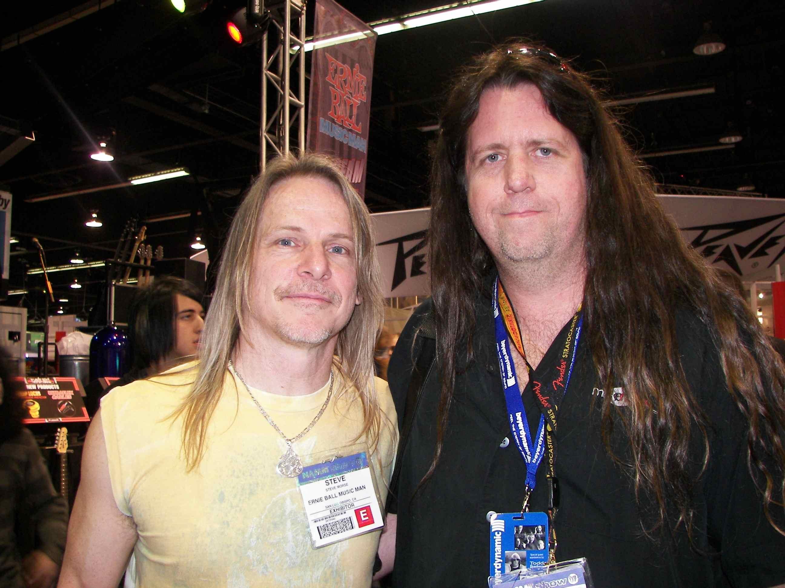Fan of Steve Morse for years, He plays in Deep Purple now.