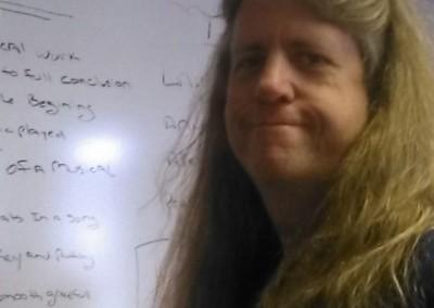 Me in my Teaching room