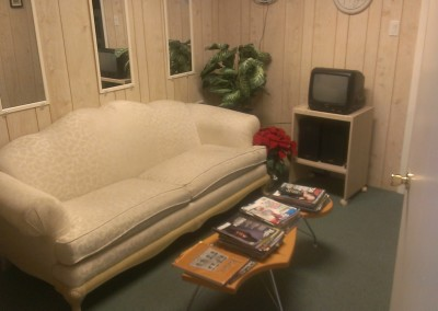 Music Central Waiting room