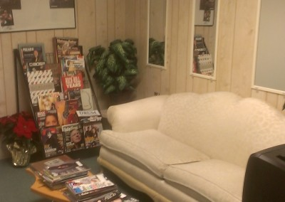 The Waiting room at Music Central
